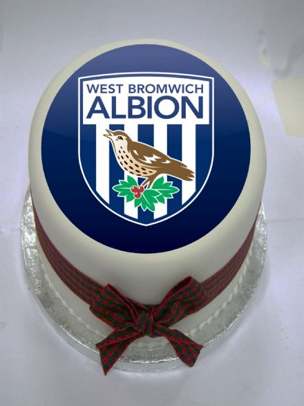 West Brom Edible Cake Topper